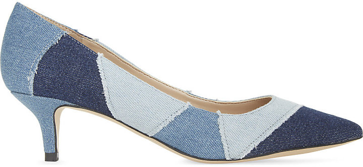 ALDO Thini patchwork denim courts