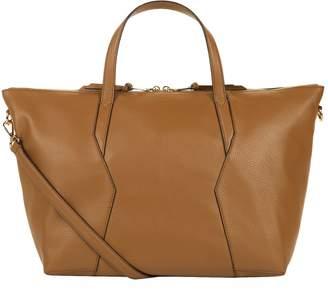 Sandro Leather Tote Bag