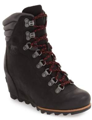 Sorel 'Conquest' Waterproof Wedge Boot