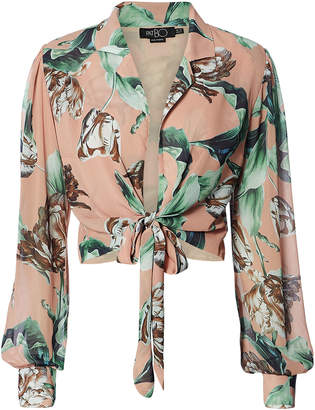 Of the Moment Patbo Botanica Print Crop Top