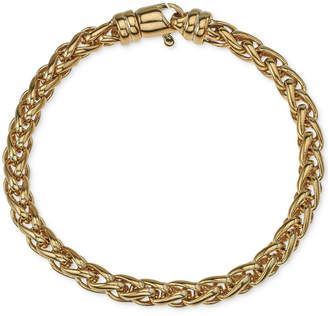 Esquire Men Jewelry Chain Bracelet in 14k Gold-Plated Sterling Silver