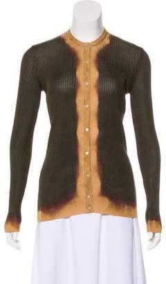 Tom Ford Silk Long Sleeve Cardigan