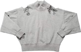 Diesel Destroyed Cotton Sweatshirt