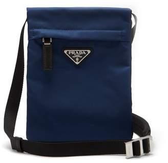 Prada Nylon Cross Body Bag - Mens - Navy