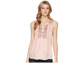 Roper 1568 Lawn Sleeveless Peasant Blouse