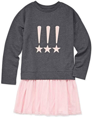 Arizona Long Sleeve Sweater Dress - Big Kid Girls