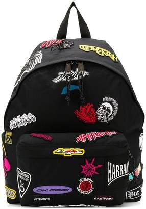 Eastpak printed backpack