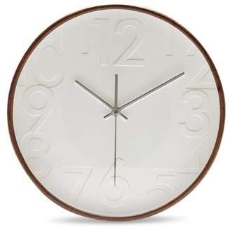 Salt&Pepper Salt & Pepper Lincoln Wall Clock Walnut 32cm