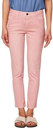 Esprit edc by Women's 068cc1b029 Trouser, (Black 001), W34/L32 (Size: 34/REG)