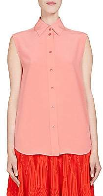 Givenchy Women's Silk Sleeveless Blouse