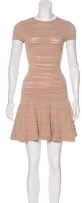 Ronny Kobo Knit Mini Dress