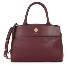 Anne Klein Oxford Faux Leather Satchel
