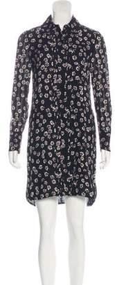 Tory Burch Button-Up Shift Dress