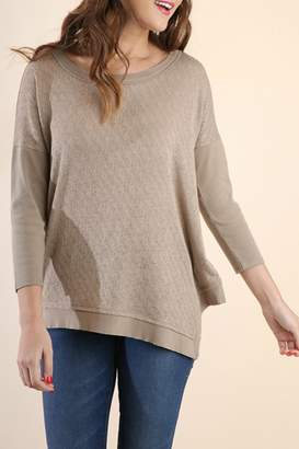 Umgee USA Aubre Asymmetrical Top