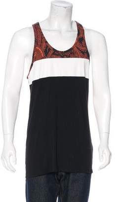 Givenchy Paisley Sleeveless T-Shirt