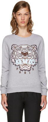 Kenzo Grey Limited Edition Tiger Sweatshirt $265 thestylecure.com