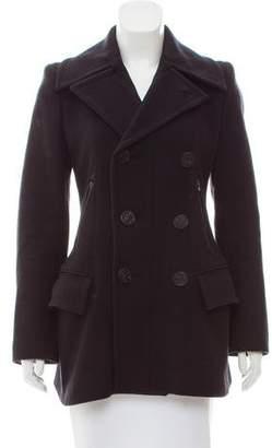 Jean Paul Gaultier Double-Breasted Wool Coat
