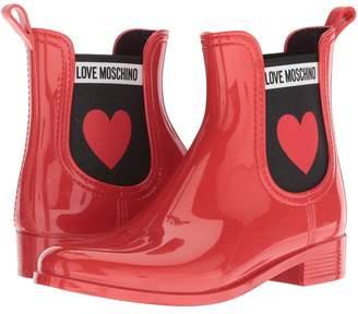 Love Moschino Rain Boot Women's Rain Boots