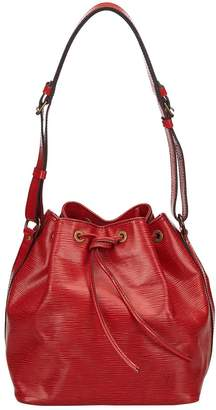 Louis Vuitton Vintage Noe Burgundy Leather Handbag