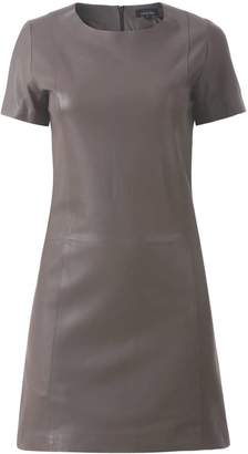 Ellesd Taupe Classic Leather Dress