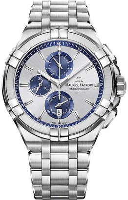 Maurice Lacroix AI1018-SS002-131-1 Aikon Chronograph stainless steel watch
