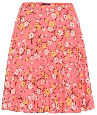 Polo Ralph Lauren Floral crepe miniskirt