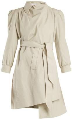 Balenciaga Pulled puff-sleeve coat