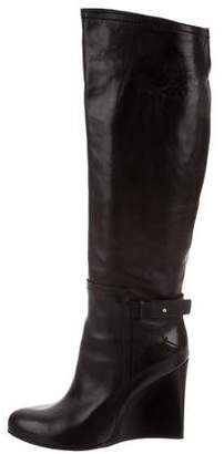 CNC Costume National Wedge Knee-High Boots