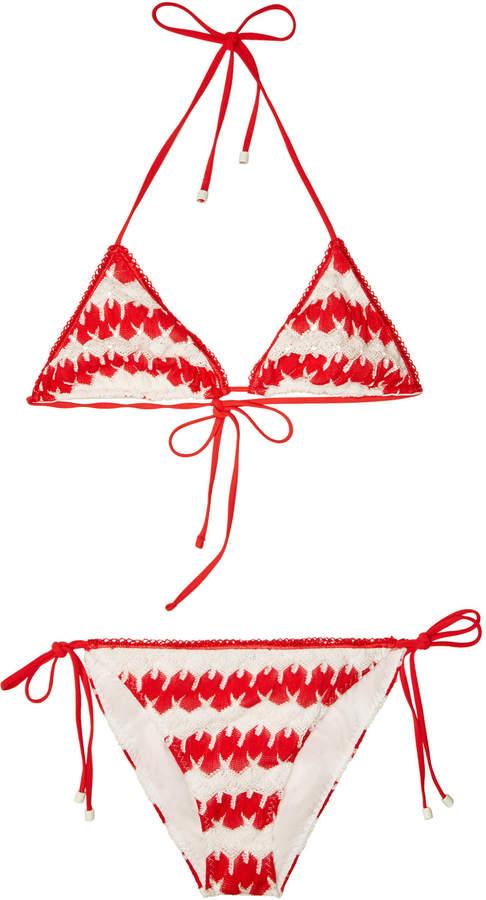 Mare Classic Triangle Bikini with Cotton