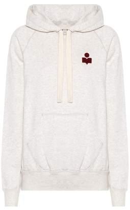 Etoile Isabel Marant Isabel Marant, Étoile Malibu cotton-blend hoodie