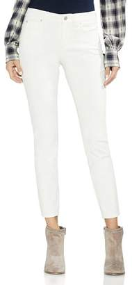 Vince Camuto Washed Corduroy Skinny Jeans in Antique White
