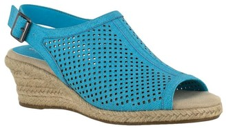 Easy Street Shoes Wedge Sandals - Stacy
