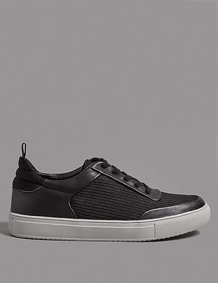 Marks and Spencer Smart Mesh Lace-up Trainers
