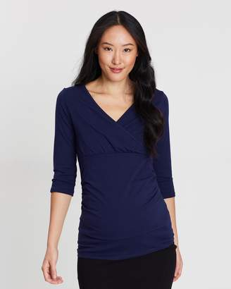 Ruch Wrap Top