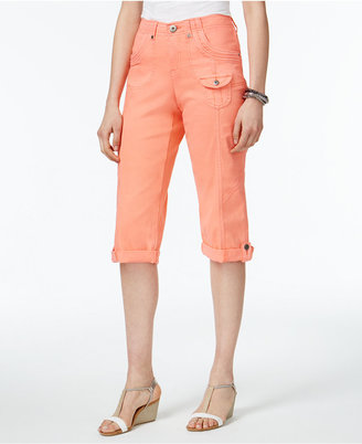 Style & Co Cuffed Capri Pants, Created for Macy's $49.50 thestylecure.com
