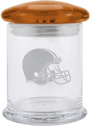 12oz NFL Cleveland Browns Glass Candy Jar