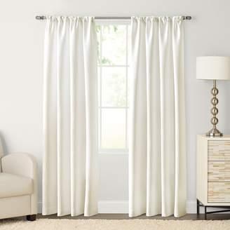 Sonoma Goods For Life SONOMA Goods for Life Carson Twill Pole Top Window Curtain