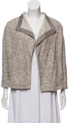 Vince Open-Front Knit Sweater
