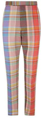 Thom Browne Check Print Trousers