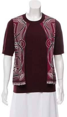 Hermes Virgin Wool Knit Top