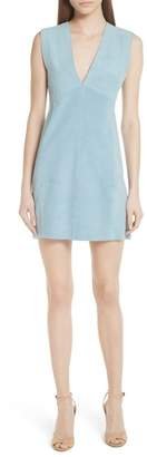 Theory Zinovin S. Double Face Suede Dress