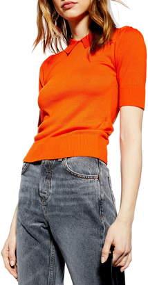 Topshop Polo Neck Sweater