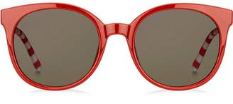 Tommy Hilfiger oversized round frame sunglasses