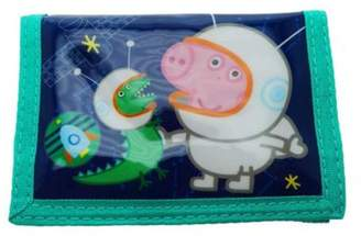 Peppa Pig Character Peppa George & Dino Astronauts Wallet One Size