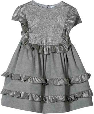 Simonetta Gray Newborn Dress Kids