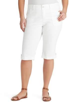 Gloria Vanderbilt Plus Size Bianca Skimmer Capris