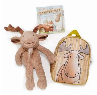 Bunnies by the Bay Bruce On the Go Backpack, Stuffed Animal & Board Book Set