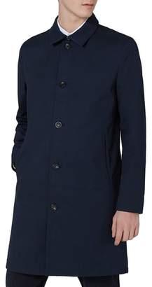 Topman Single Breasted Topcoat
