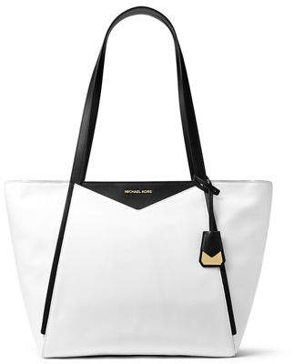 MICHAEL Michael Kors Large Colorblock Leather Shoulder Tote Bag