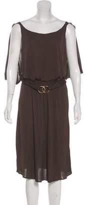 Milly Sleeveless Midi Dress